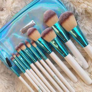 Bh blue 12pcs brush set