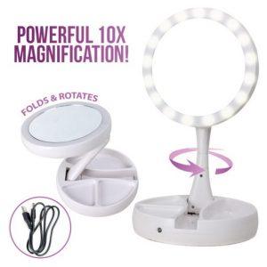 T-Foldaway Led Makeup Mirror