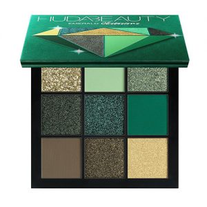 EMERALD OBSESSIONS EYESHADOW PALETTE BY HUDA BEAUTY