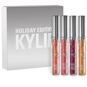 KYLIE 4 IN 1 HOLIDAY EDITION LIP GLOSS SET