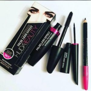 HUDA Beauty 3 in 1 Liner Mascara Eyebrow Pencil