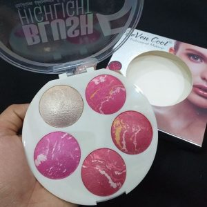 Seven cool 5 shades blusher