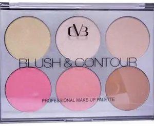 CVB Paris Blush & Contour 6 Shades Palette